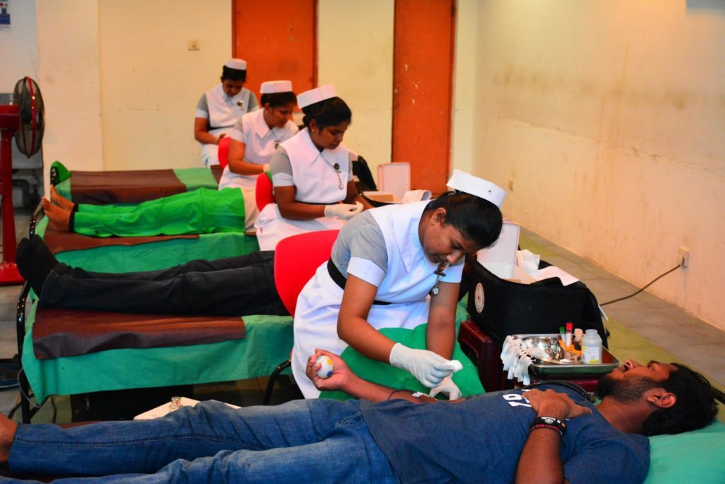 """Every Drop Counts"" – Blood donation Programme"