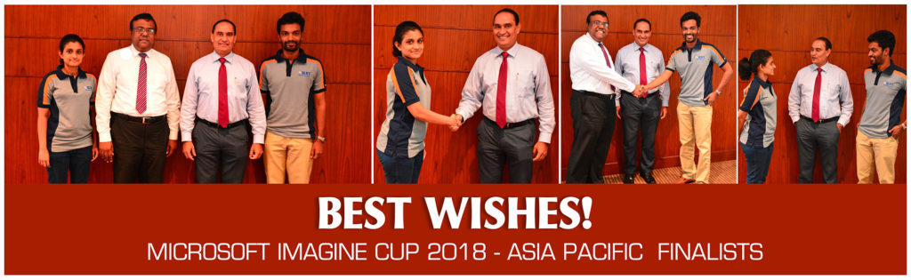SLIIT secures winning spot in the Microsoft Imagine Cup 2018