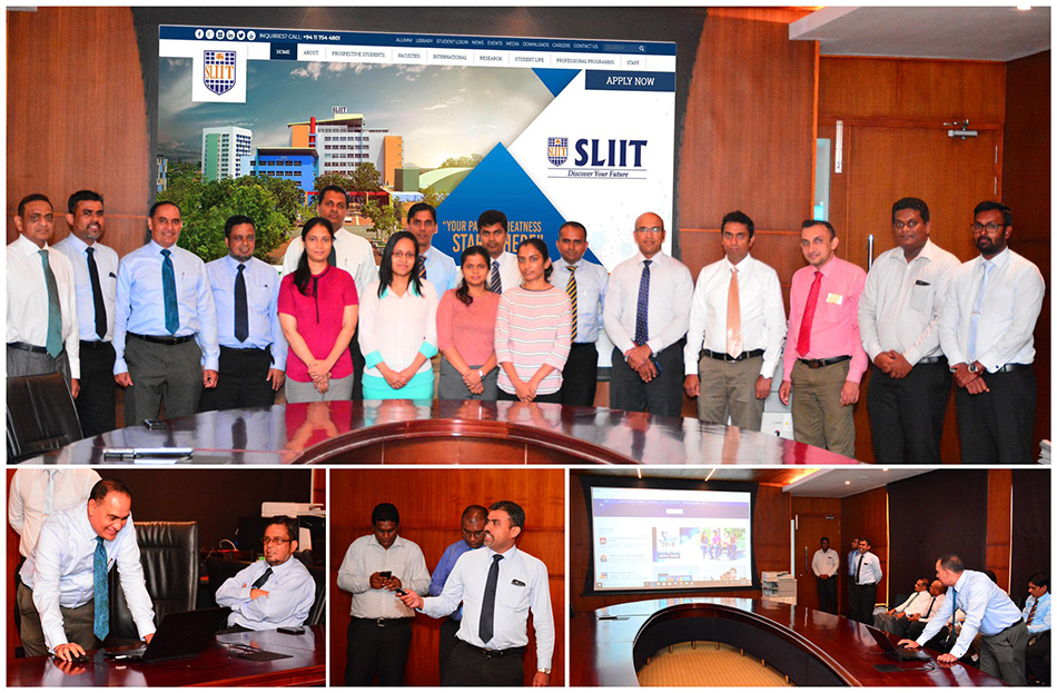 sliit.lk re-launched with much pomp and pageant